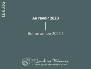 Au revoir 2020, bonne année 2021